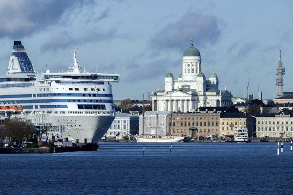 фото паром Санкт Петербург Хельсинки