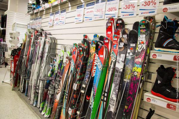 Лыжные принадлежности