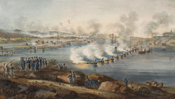 В начале XVII в. разразилась между Швецией и Россией Северная война, которая проходила на территории Финляндии