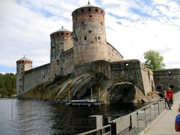 Крепость Лапеенранты - одна из главных дстопримечательностей Финляндии