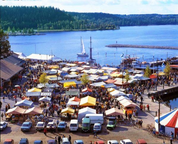 Лахти озеро порт