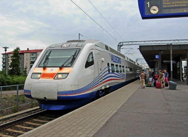 Знаменитый скоростной поезд «Аллегро» Санкт-Петербург -Хельсинки