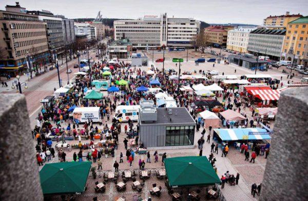 Рыночная площадь Лахти