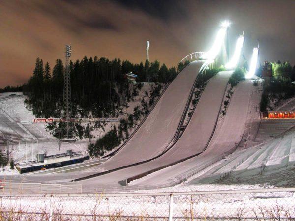 Лыжный курорт Лахти