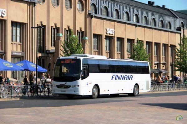 Автобус в Финляндию