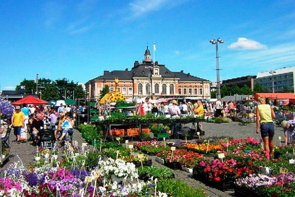 Рыночная площадь Куопио
