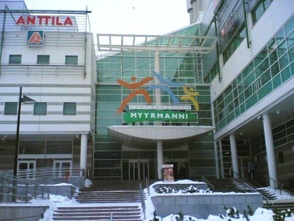 Мююрманни - ещё один крупный торговый центр в городе Вантаа, где всегда найдётся большое количество магазинов, кафе и ресторанов