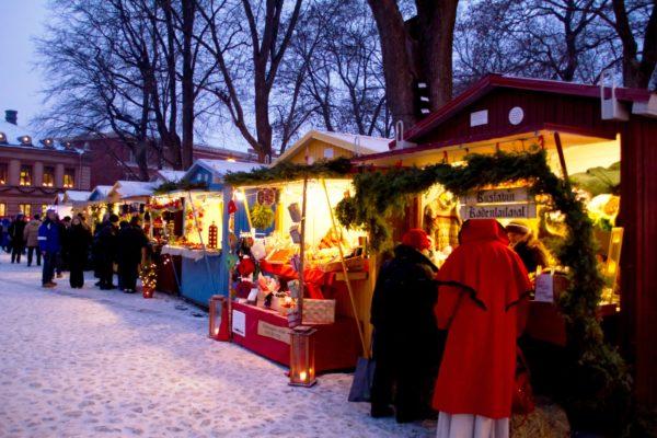 Рождественская ярмарка в на Старой площади
