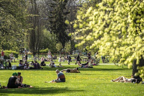 Парк отдыха Kupittaanpuisto.