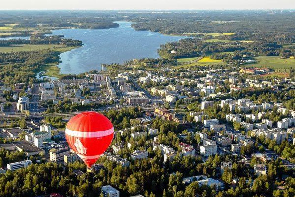 Финский город Ярвенпяа