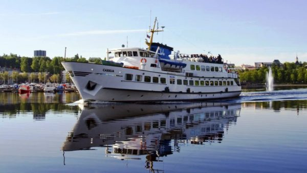 На яхте по Сайменскому каналу
