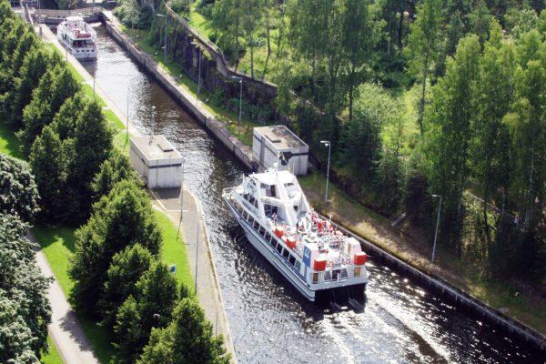 Тур по Сайменскому каналу