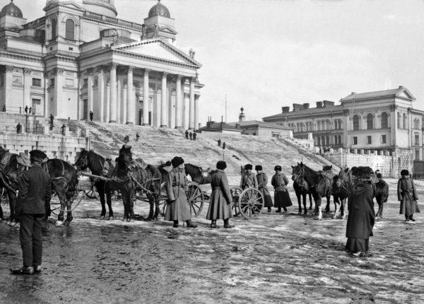 Сенатская Площадь, начало 19-го столетия