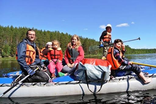 С семьей в Финляндию