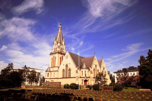 Евангелистско-лютеранская церковь Кеми