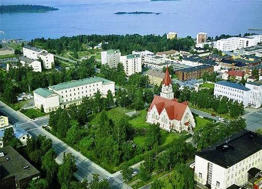 Кеми — один из самых северных городов Финляндии
