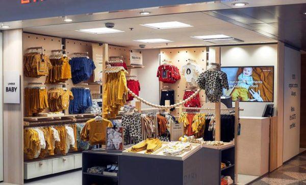 В сети магазинов Lindex есть детская одежда