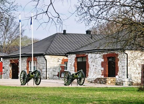Строения на территории крепости