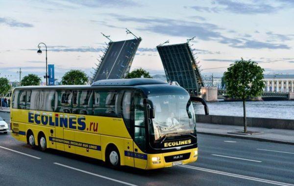 Автобус в Лапеенранту