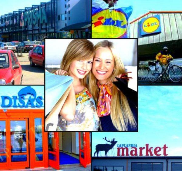 Одним из самых известных шоп-туров является тур в Лаппеенранту