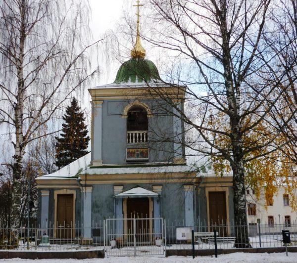 Церковь Покрова Пресвятой Богородицы является наиболее старым православным храмом в Финляндии