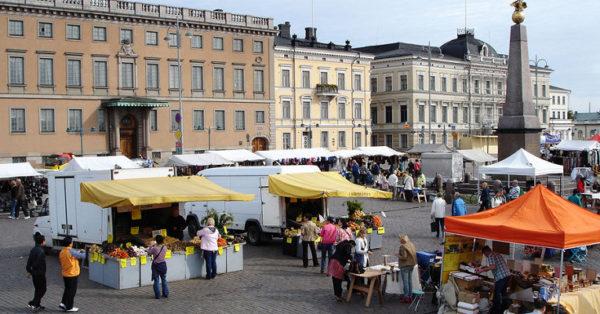 Рыночная площадь Kauppatori