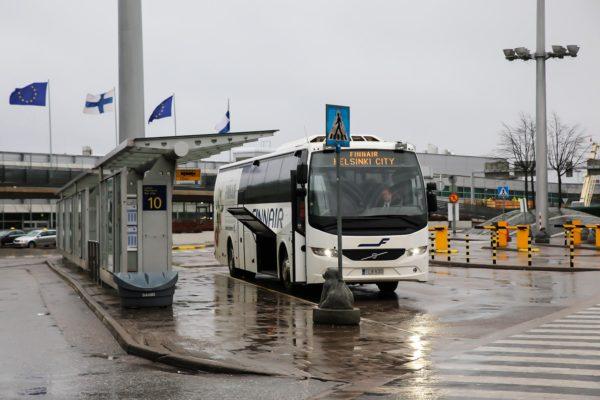 Автобус до аэропрота Хельсинки