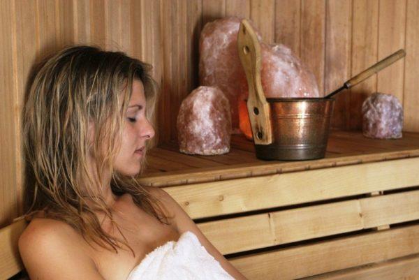 Финская сауна очень полезна для кожи