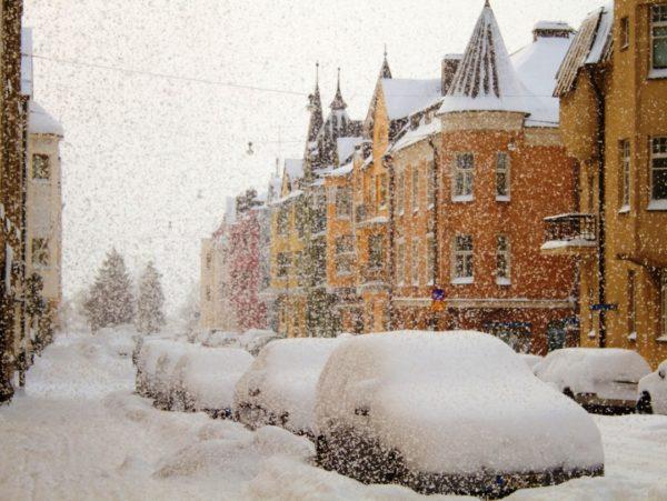 Осадки в Финляндии