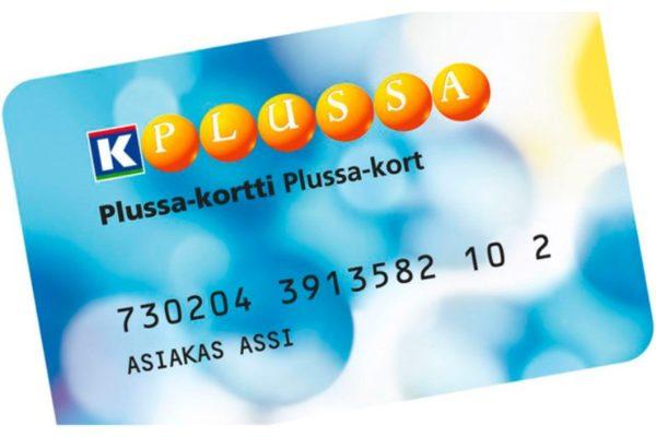 скидочная карта K-Plussa
