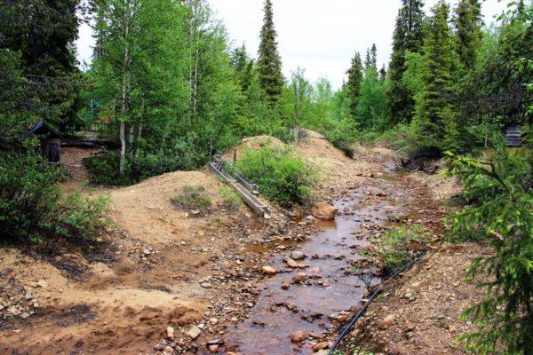 Добыча золота в Финляндии