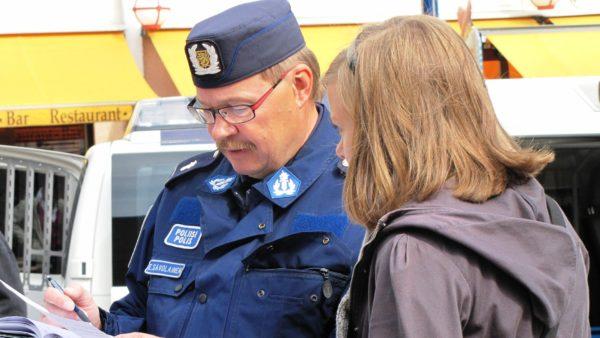 Правила обгона в Финляндии