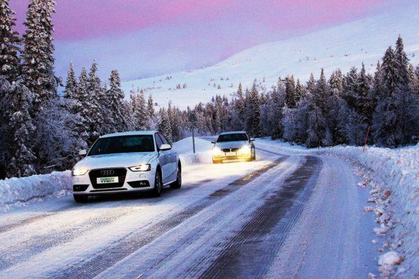 Зимние дороги в Финляндии