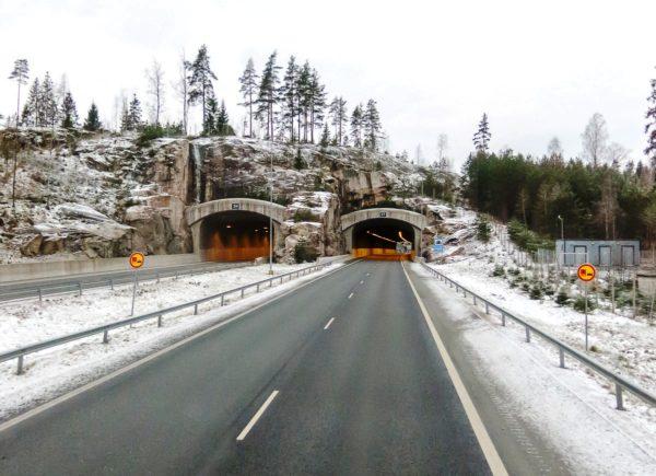 Зимние дороги Финляндии