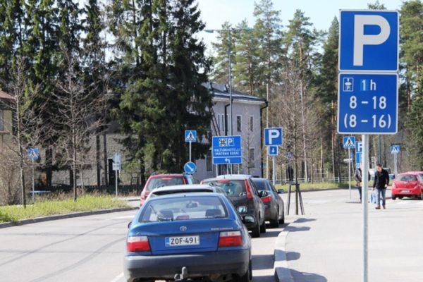 Парковки Финляндии