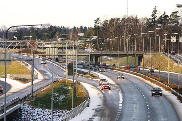 Автомобильная сеть Финляндии
