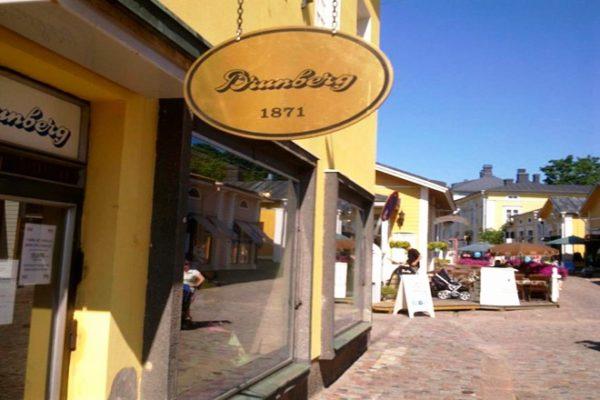ондитерский магазин шоколадной фабрики Brunberg