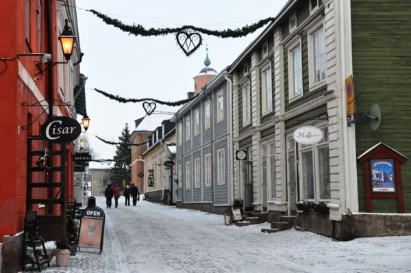 Старый город Порвоо