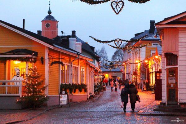 Рождественские ярмарки в Порвоо