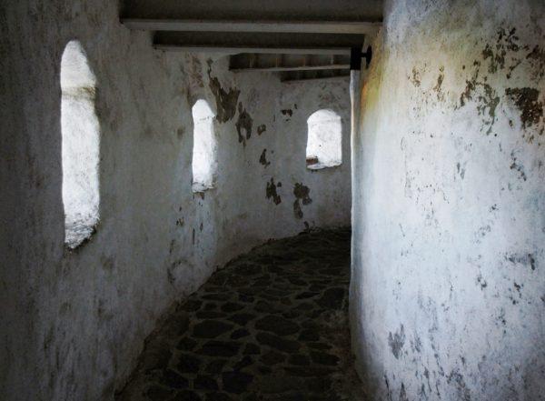 Внутренние коридоры замка