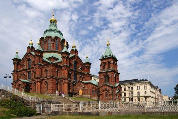 успенский кафедральный собор хельсинки
