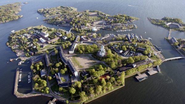 Хельсинки архипелаг Суоменлинна